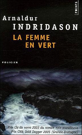 La femme en vert de Arnaldur Indridason dans Roman policier 9782757803172